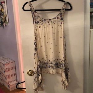 Free people intimates floral slip size S
